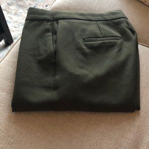 Banana republic straight trouser pant size 0